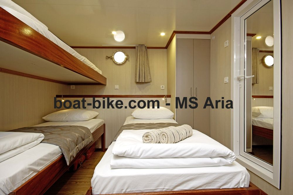 MS Aria - cabin lower deck