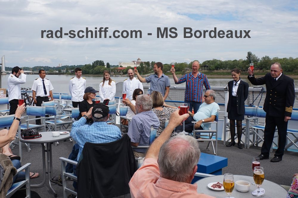 MS Bordeaux - Sonnendeck