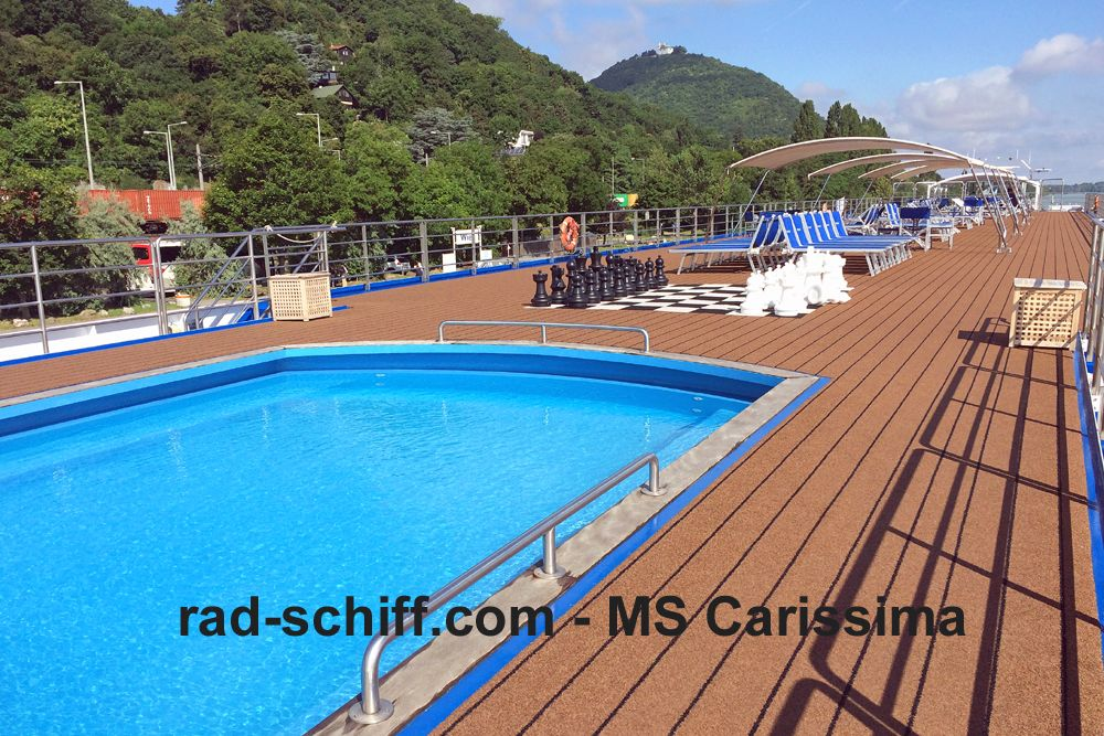 MS Carissima - Sonnendeck