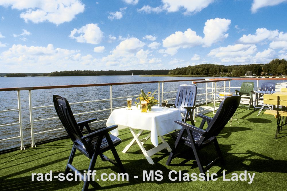 MS Classic Lady - Sonnendeck