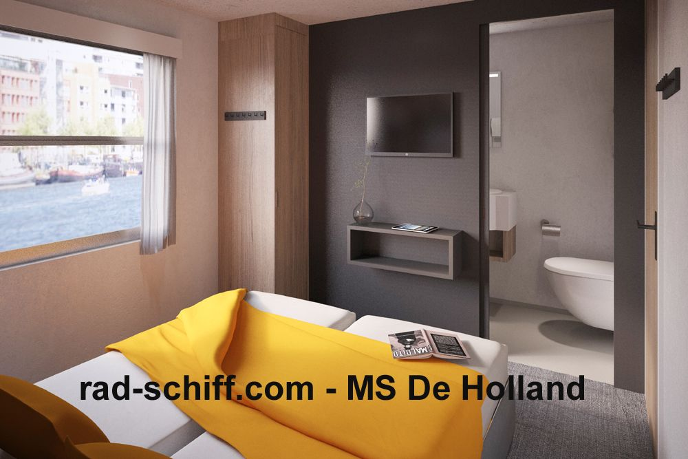 MS De Holland - Kabine