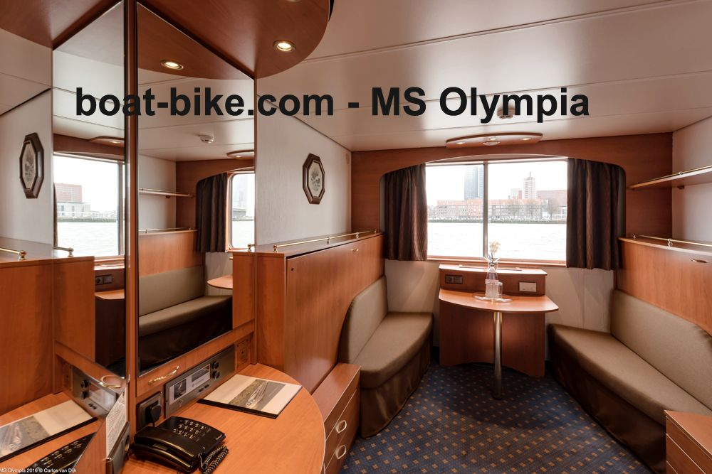 MS Olympia - cabin upper deck