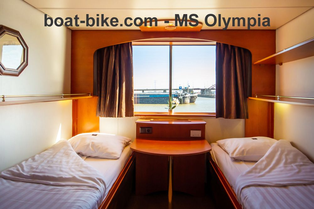 MS Olympia - main deck cabin