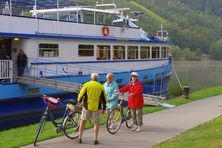 Urlaub mit Rad und Schiff