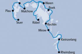 Mecklenburger Seen per Rad & Schiff