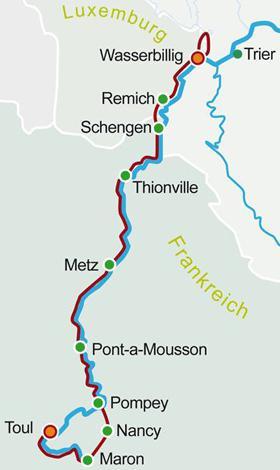 Lothringen Karte.Lothringen Luxemburg