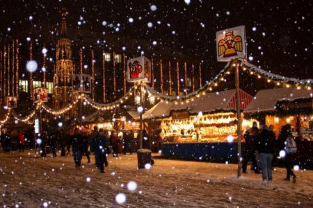 Groningen Weihnachtsmarkt.Kreuzfahrt Weihnachtsmarkte