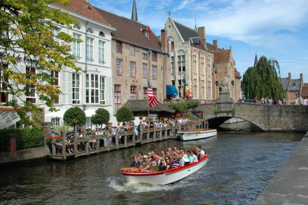 Belgium by boat and bike - Bruges