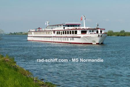 Rad & Schiff an der Donau mit MS Normandie